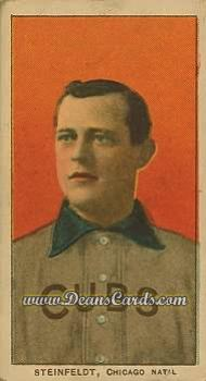 1909 T206 #0   Harry Steinfeldt - Portrait