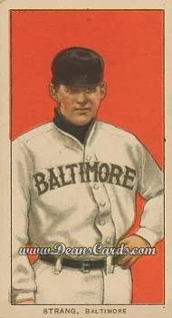 1909 T206 Reprints #471   Sam Strang
