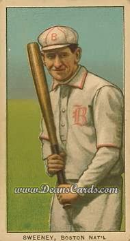 1909 T206 Reprints #476   Bill Sweeney