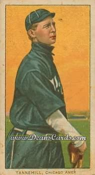 1909 T206 #0   Lee Tannenhill - Follow Thru