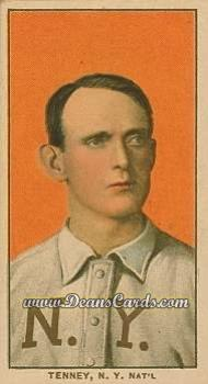 # 482 Fred Tenney - T206 REPRINT