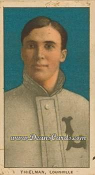 1909 T206 Reprints #484  Jake Thielman