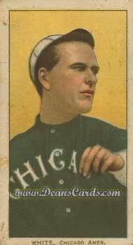 1909 T206 #0   Doc White - Throwing