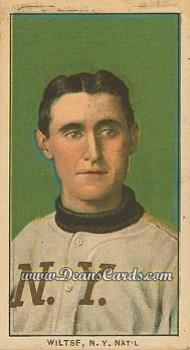 # 520 Hooks Wiltse Portrait No Cap - T206 REPRINT