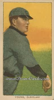 # 523 Cy Young Bare Hand Shows - T206 REPRINT