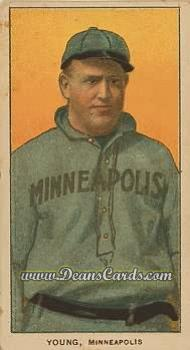 # 526 Irv Young Minneapolis - T206 REPRINT