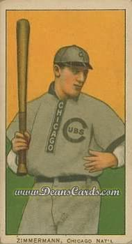 1909 T206 Reprints #527   Heinie Zimmerman