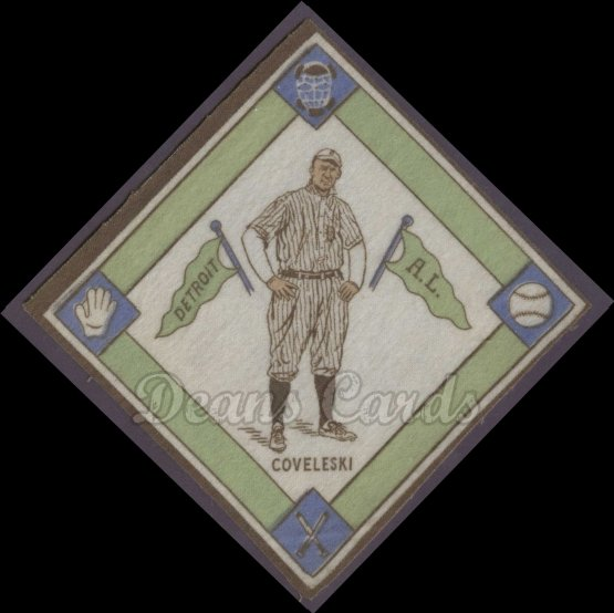 # 15A Harry Coveleski (White Infield) - 1914 B18 Blankets