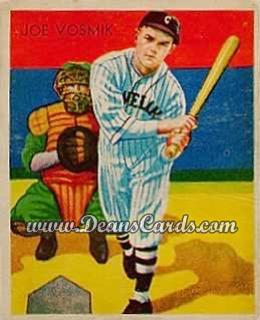 1934 Diamond Stars #8   Joe Vosmik