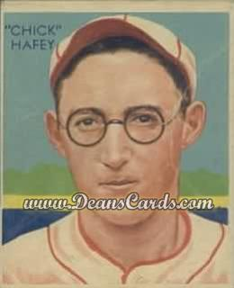 1934 Diamond Stars #18   Chick Hafey