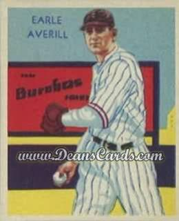 1934 Diamond Stars #35   Earl Averill