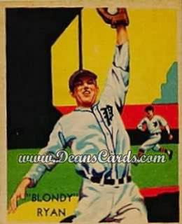 1934 Diamond Stars #40   Blondy Ryan