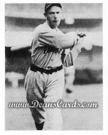 1939 Play Ball Reprints #102   Lem (Pep) Young