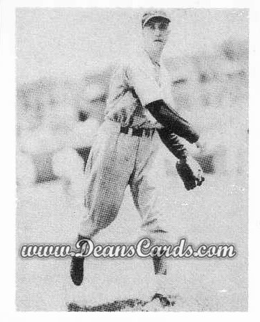 # 22 Bucky Walters RC - 1939 Play Ball REPRINTS
