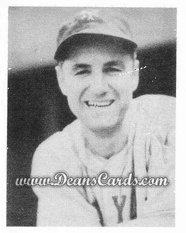 # 35 Bill Jurges - 1939 Play Ball REPRINTS