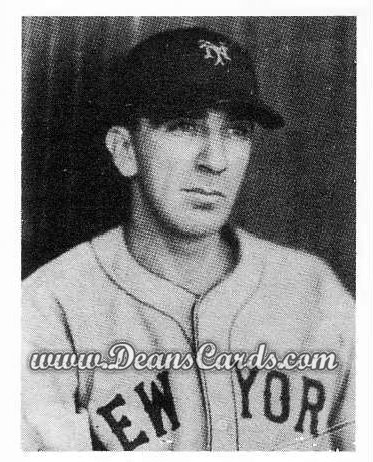 # 53 Carl Hubbell - 1939 Play Ball REPRINTS