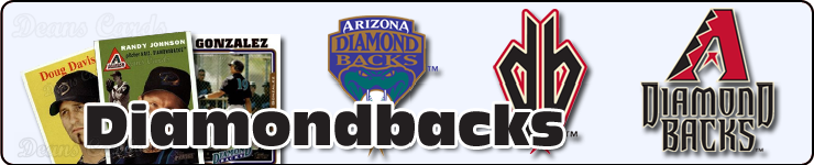 Arizona Diamondbacks Baseball Cards Team Sets & Lots
