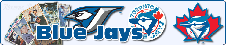 Toronto Blue Jays Team Baseball Cards Sets & Lots
