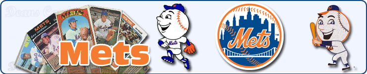 New York Mets Team Sets & Lots