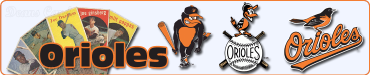 Baltimore Orioles Team Sets & Lots