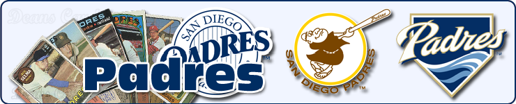 San Diego Padres Baseball Cards Team Sets & Lots