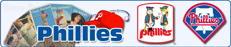 Philadelphia Phillies Team Sets & Lots