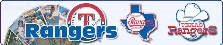 Texas Rangers Team Sets & Lots